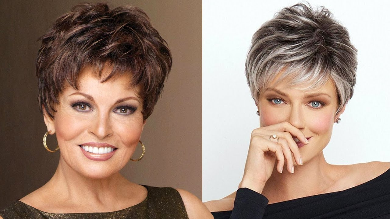 discover five trendy and elegant short haircuts for older